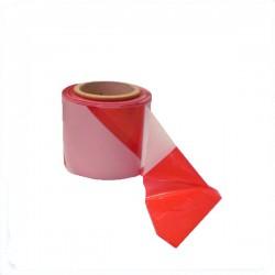 Výstražná, bezpečnostní páska bílo-červená role 100bm x 80mm