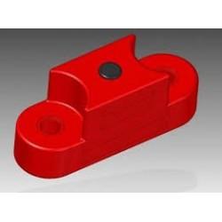 Silniční bariéra 15 kg (červená)