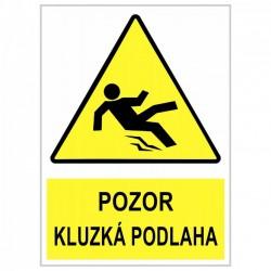 """Cedule """"Kluzká podlaha - Wet floor"""""""