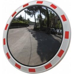 Dopravní zrcadlo akrylové U-18a,  Ø 80 cm