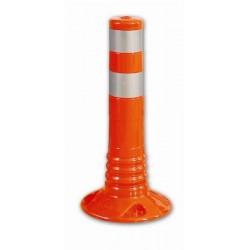 Flexibilní výstražný zahrazovací sloupek 450mm oranžový